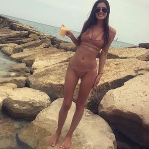 Zaful strappy bikini
